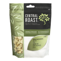 Central Roast Raw Macadamia Nuts (210g)  - Urbery