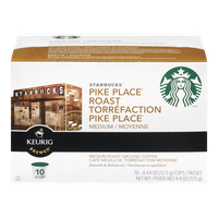 Keurig Starbucks Pike Place Roast Medium (10ea)  - Urbery