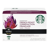 Keurig Starbucks French Roast Dark Roast (10ea)