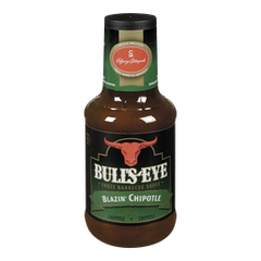 Kraft Bulls-Eye BBQ Sauce, Blazin Chipolte (425mL)  - Urbery