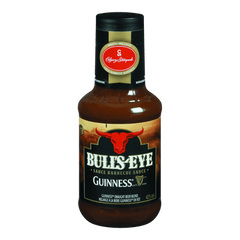 Kraft Bulls-Eye BBQ Sauce, Guinness (425mL)  - Urbery