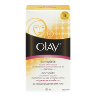 Olay Complete All Day UV Moisturizer, Combination/Oily (177mL)  - Urbery