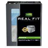 Depend Real Fit For Men, L/XL (10 ea)