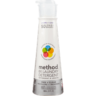 Method Laundry Detergent, Free + Clear (600mL)  - Urbery