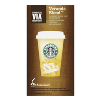 Starbucks Via Ready Brew Veranda Blend (8ea)  - Urbery