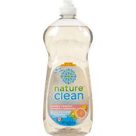 Nature Clean Dishwashing Detergent , Mandarin & Grapefruit (740mL)  - Urbery
