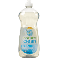 Nature Clean Dishwashing Detergent Unscented (740mL)  - Urbery