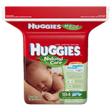 Huggies Natural Care Baby Wipes (184 ea)