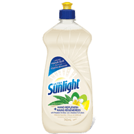 Sunlight Dishwashing Detergent Hand Replenish Mild & Gentle (740mL)  - Urbery
