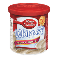 Betty Crocker Whipped Frosting, Fluffy White (340g)  - Urbery