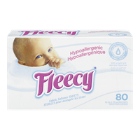 Fleecy Dryer Sheets, Hypoallergenic (80ea)  - Urbery