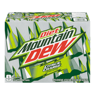 Diet Mountain Dew Citrus Charge (12X355ML)  - Urbery