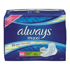Always Maxi Pad Super Long (60ea)  - Urbery