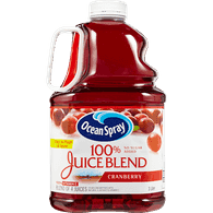 Ocean Spray 100% Juice Blend, Cranberry (3L)  - Urbery