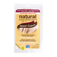 Deli Counter Natural Selections Hickory Smoked Turkey, Shaved (175g)  - Urbery