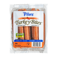 Deli Counter Piller's Turkey Bites, Spicy (300g)  - Urbery