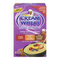 Cream of Wheat Cream Of Wheat, Instant Variety Pack (195g)  - Urbery