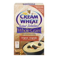 Cream of Wheat Instant Cereal Whole Grain (360g)  - Urbery
