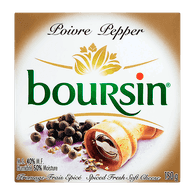 Boursin Pepper Cheese (150g)  - Urbery
