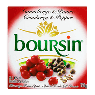 Boursin Cranberry & Pepper (150g)  - Urbery