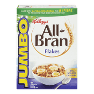 Kellogg's All-Bran Flakes Jumbo Box (980g)  - Urbery