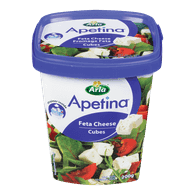 Feta Cheese, Cubes (200g)