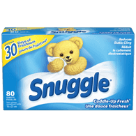 Snuggle Dryer Sheets, Cuddle-Up Fresh (80sh)  - Urbery