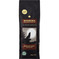 Muskoka Howling Wolf Coffee, Whole Bean (454g)  - Urbery