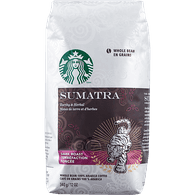 Starbucks Sumatra Coffee, Whole Bean (340g)  - Urbery