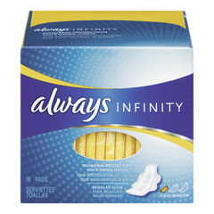 Always Maxi Pad Infinity Super Non Wing (16ea)  - Urbery