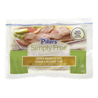 Piller's  Simply Free Smoked Breakfast Ham (375g)  - Urbery