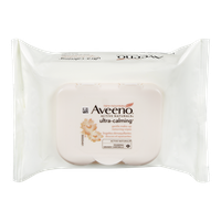 Aveeno Ultra-Calming Makeup Removing Wipes (25ea)  - Urbery