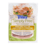 Piller's Simply Free Smoked Ham, Honey Maple (175g)