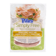 Piller's Simply Free Smoked Ham, Honey Maple (175g)  - Urbery