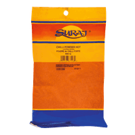 Suraj Chilli Powder, Hot (400g)  - Urbery