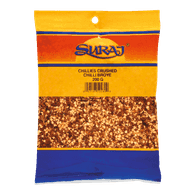 Suraj Chillies, Crushed (200g)  - Urbery