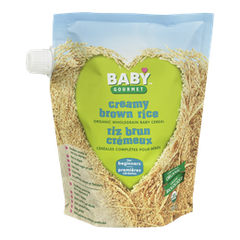 Baby Gourmet Baby Food Creamy Brown Rice Cereal (227g)  - Urbery