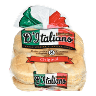 D'Italiano Buns Crustini (8/pack)