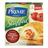 Maple Leaf Prime Stuffed Breaded Chicken, Italiano Pizza Style (340g)  - Urbery