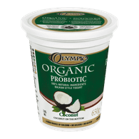 Olympic Organic Probiotic Yogurt, Coconut (650g)  - Urbery