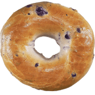 Bagels, Blueberry Package of 6 (6x108g)  - Urbery