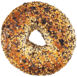 Bagels, Everything Package of 6 (6x108g)