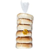 Bagels, Plain Package Of 6 (6x113g)  - Urbery