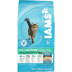 Iams ProActive Health Cat Food Indoor Weight & Hairball Care Dry (1.32kg)  - Urbery
