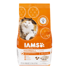 Iams ProActive Health Cat Food Adult Hairball Care Dry (1.4kg)  - Urbery