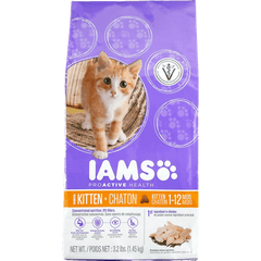 Iams ProActive Health Original Dry Kitten Food (1.45kg)  - Urbery