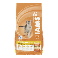 Iams ProActive Health Adult Original Dry Cat Food with Chicken (1.45kg)  - Urbery