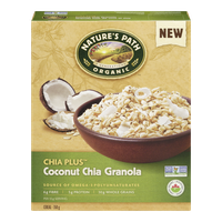 Nature's Path Chia Plus Coconut Chia Granola (350g)  - Urbery