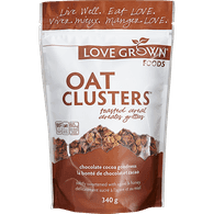 Love Grown Oat Clusters, Chocolate Cocoa Goodness (340g)  - Urbery