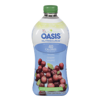 Oasis Nutrisource Low Calorie Cranberry Cocktail (1L)  - Urbery
